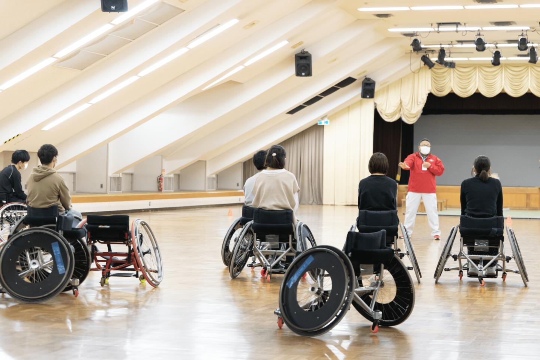 車椅子スポーツ体験教室を実施。誰もが楽しめる仕組みづくりで、共生社会を実現しよう。